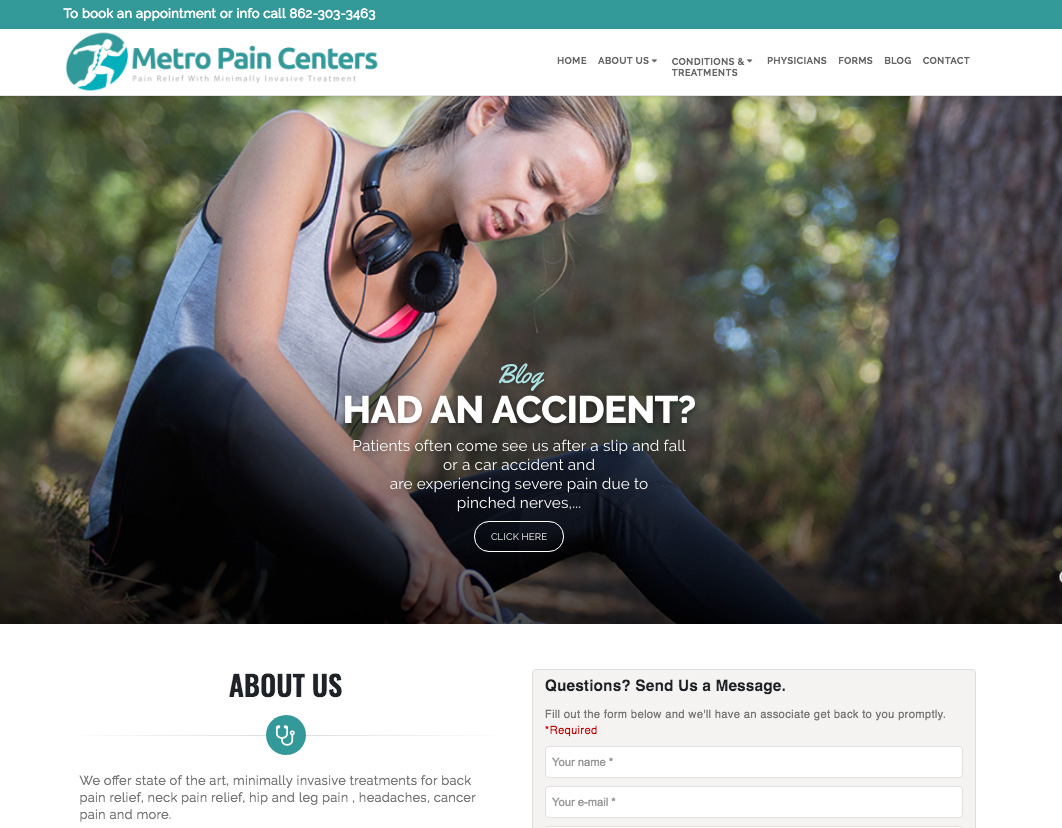 Metro Pain Centers CMS Bot